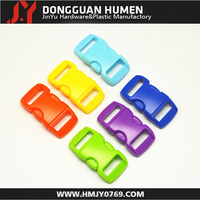 """Promotional price curved buckle 3/8"""" side release buckle for pet"""