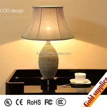 made in china wood table lamp for bedroom decoration