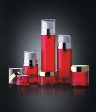 15ml 50ml 80ml plastic cream jar for cosmetic packaging, empty plastic bottle