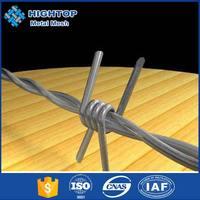 Cheap 14 Gauge Galvanized Barbed Wires