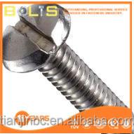 fastener supplier ss304 slotted pan head screws