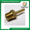 Custom Made Brass threaded Forged 8 Inch male and female pipe fittings single hose barb fittings for plastic hoses or pvc pipe