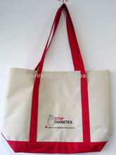 Eco Cotton Canvas bags for shopping, promotional tote bag