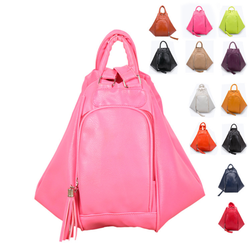 VT375 2015 Cheap Price Lichee pattern double use teenage school bags