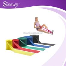 Gym 100% Latex loop ankle resistance bands