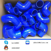 intercooler samco silicone hoses/Silicone 90 Degree Reducer Elbow Hose Pipe 63 to 83mm