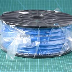 3D Printer PLA Filament 1.75 in Glow Dark Blue color 1kg