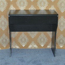 China wood make-up table, white dresser