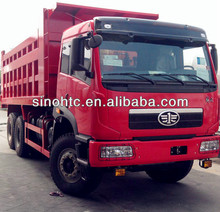 faw dump truck 6*4 better quality used in Mauritius