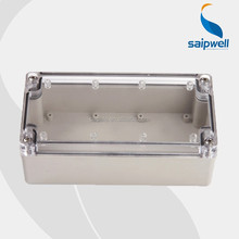 IP67 ABS/PC material electrical junction box enclosure with cable gland