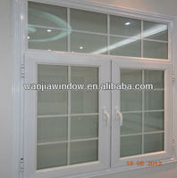Aluminum decorative window security bars