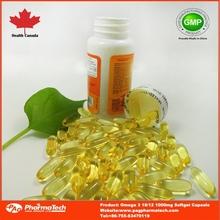 OEM omega fish oil nutrition supplement capsule