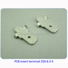 Electrical brass small battery terminal block
