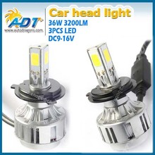 H4 COB headlight for car for motocycle