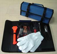 car roadside emergency kit with foldable bag