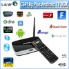 New Arrival! XBMC Fully Loaded CS918G Plus amlogic s805 Android 4.4 Tv Box S805 Quad Core 1G/8G Smart Tv Box media player