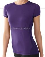 High quality quick-drying Merino Wool Lightweight Short Sleeve Crew T shirt for women