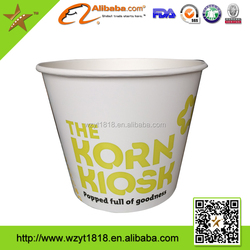 120oz paper bucket for food packaging