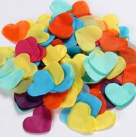 2 inch Party Favor Decoration Heart Shaped Paper Confetti