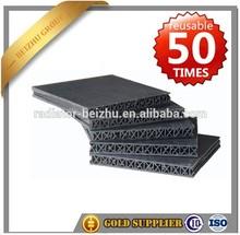 Reciclado encofrado materiales para hormigón