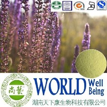 Hot sale Salvia sclarea extract/Sclareolide/Sclareol/Treat diabetes plant extract