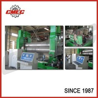 3 rollers large size mechanical plate rolling forming machine