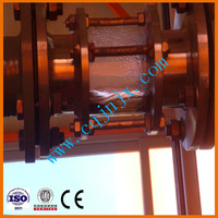 ZSA used engine oil recycling plant vacuum distillation equipment/ oil distillation management/black waste oil cleaning