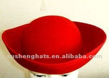 Sombrero de pirata de la fiesta de estilo. Carnaval del sombrero
