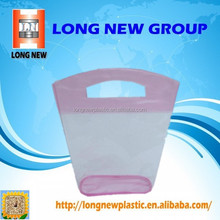 2015 Hot sale biodegradable pvc plastic folding shopping bag