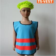 Alta- vis giubbotto di sicurezza per bambini riflettente verde rosa giallo blu