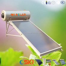 sale by bulk solar panel 200L-300L Thermosyphon solar water heater with flat plate collector (SKI- NTB)