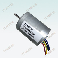 Integrated 24mm to 57mm Bldc motor with power 10w to 100w