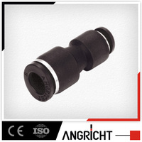 push-in quick connector, plastic reducer hose fitting