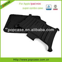Hybrid defender wallet case for ipad mini