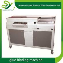 China lower price hot glue adhesive A3/A4 book binding machine