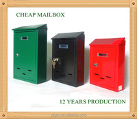 YL0126 Italy Green Small Size mailbox/postbox/letter sign