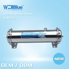 Manufacturer Whole House Filters Water Treatment 10 years service life 0.01um remove mud,sand, rust, colloid, bacteria, virus