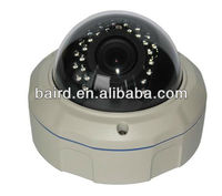 1/3 sony ccd metal vandalproof ir dome camera 2.8mm-12mm lens 700tvl & UTC remote controller for OSD