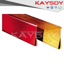 2015special fireproof water shaped hot sale aluminum ceiling board