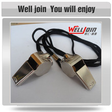 Low price good quality latest fashion stainless steel whistle