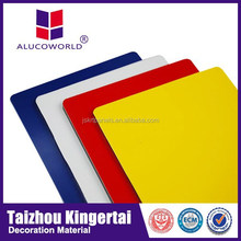 Alucoworld Antibacterial Mirror Aluminium Composite Panel(Acp) For Wall Cladding cladding for pipe