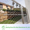 Diamond woven wire mesh fence panel