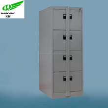 Two locks vertical 4 drawer unique file storage cabinets
