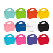 Children birthday party paper food lunch box packaging