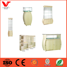 original manufacturer of Centre Floor Square Glass Cabinet Contour Wall Run Counter Display Unit