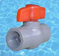 pvc pipe fitting valve/ ball valve