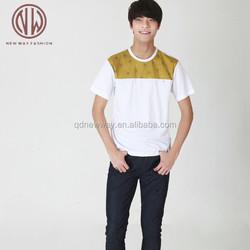 Custom 3d print soft fabric new design fashion t shirts for US America