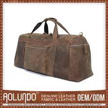 Price Cutting Nice Design Genuine Leather Duffle Bag