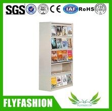 Professional book stand for office and school use with 5 adjustable open shelves/ bookrack