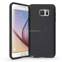 Anti-shock ultrathin silicon combo phone cover for samsung note 5 edge